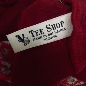 """Victoria's Secret Tops - """"Victoria's Secret Tee Shop"""" Red Tee"""